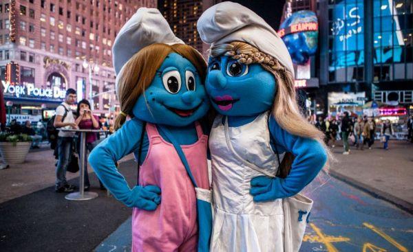 Times Square Mascots Are Degenerates