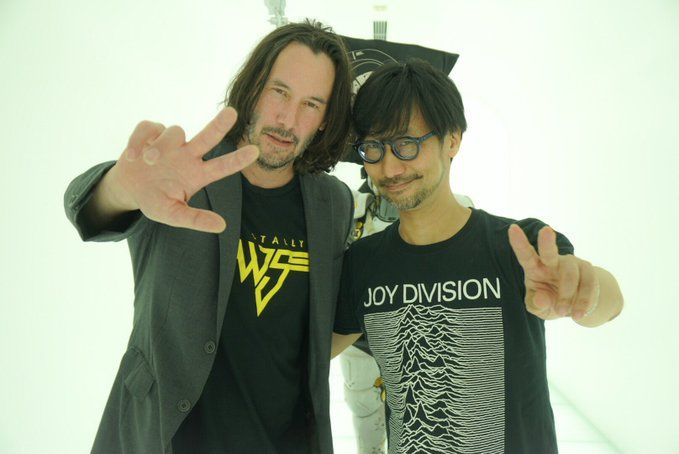 Different Worlds Collide: Keanu Reeves And Hideo Kojima Just Met