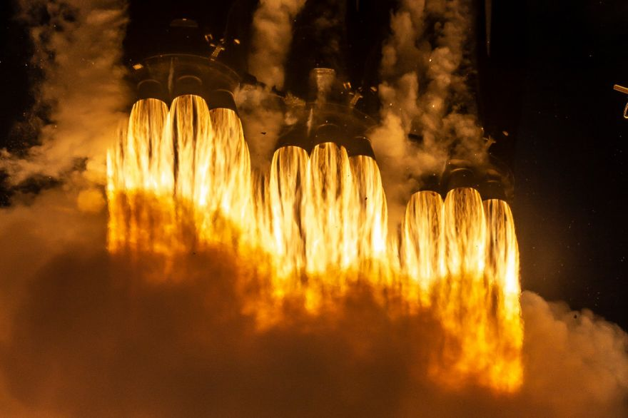 Into The Cosmos: The Falcon Heavy Makes Its Flight