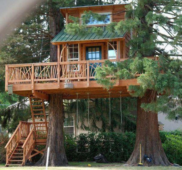 kids tree houses indoor 10 kids treehouses that go well beyond neatorama
