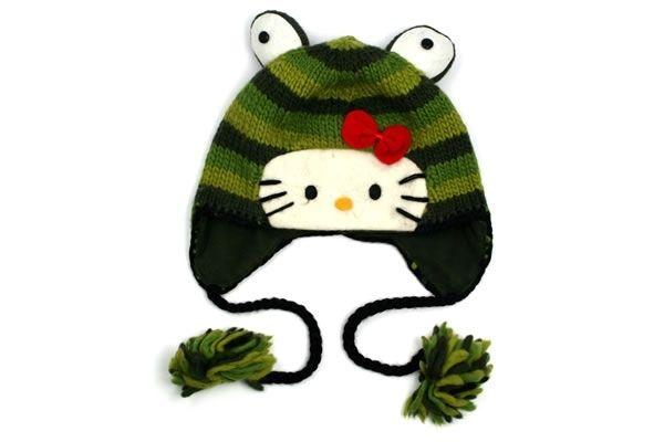 Hello Kitty Frog Laplander Hat 3cc2b4bcc9eff
