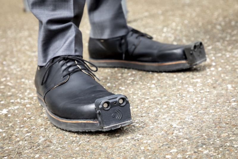 Seeing-Eye Shoes for the Visually Impaired