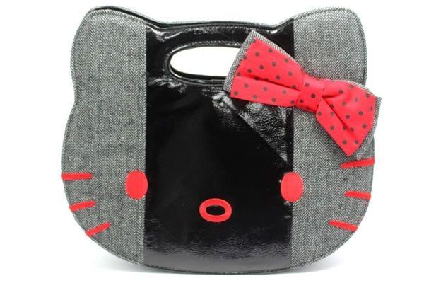 Hello Kitty Herringbone Handbag 65bed11d59f87