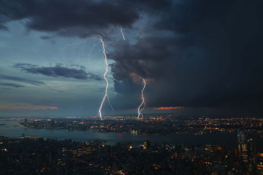 The Electric Potential of Thunderstorms