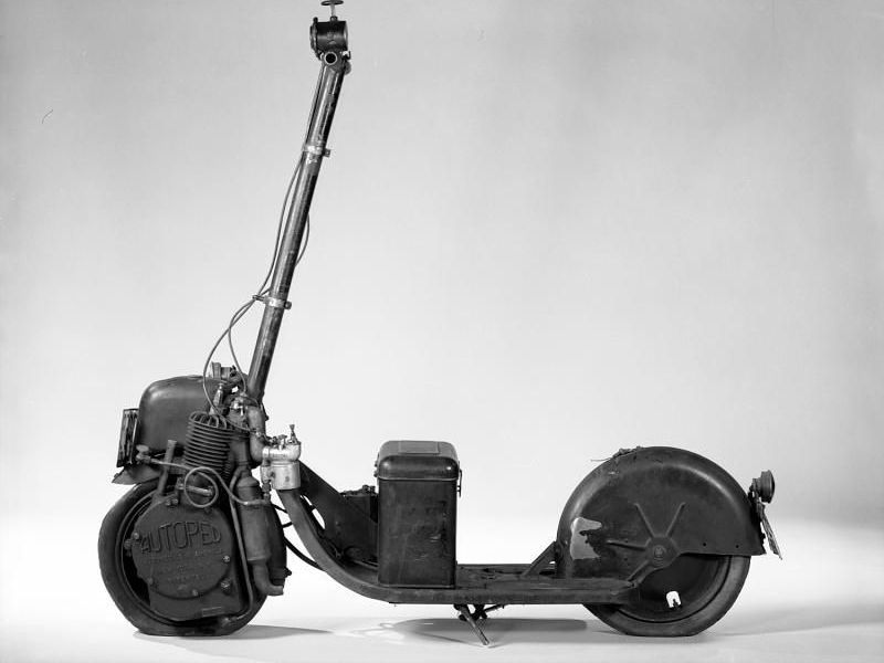 The Ancestor of Modern Motorized Scooter
