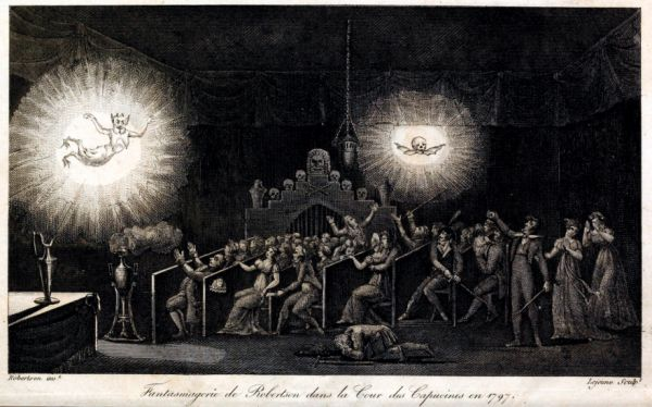 Robertsons Phantasmagoria and the 18th Century Origins of Horror Cinema