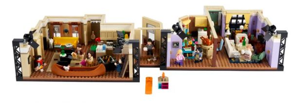 The Friends Apartments in LEGO