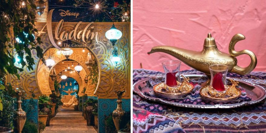 This Aladdin-Inspired Café in Australia Will Surely Take You to A Whole New World