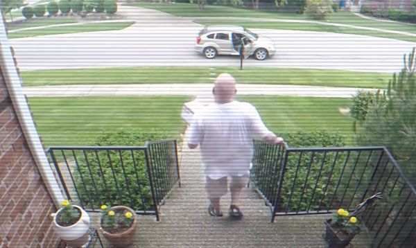 Prankster Uses Explosive Bait Box To Cover Package Thief With Poo