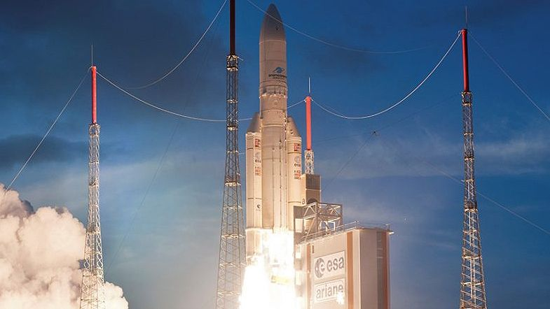 European Data Relay System Satellite Makes Successful Launch