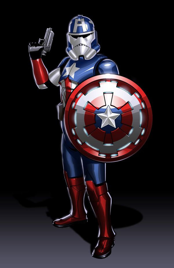 Marvel Superheroes Reimagined As Clone Troopers Neatorama