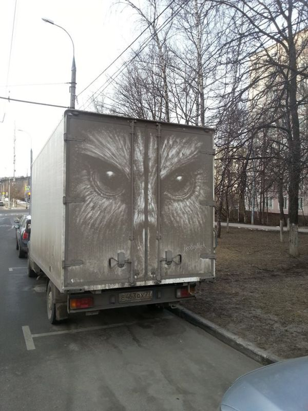 Proboynick S Dirty Truck Art Neatorama