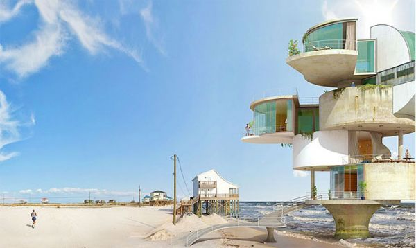 Hopefully Dionisiou0027s Designs For The Hurricane Proof Homes Of The Future  Will Inspire Architects And Builders To Stop Accepting Destruction And  Start ...