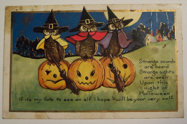 Vintage Halloween Postcards - Neatorama