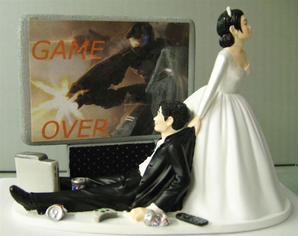 A collection of hilarious wedding cake toppers neatorama junglespirit Images