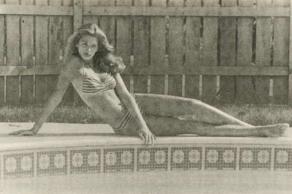 Cindy Crawford First Modeling