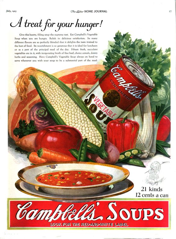 That Time Campbell's Put Marbles in Their Soup