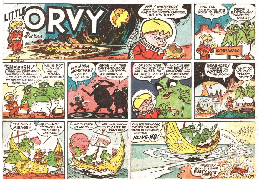 Long Before There Was Calvin and Hobbes, There Was....