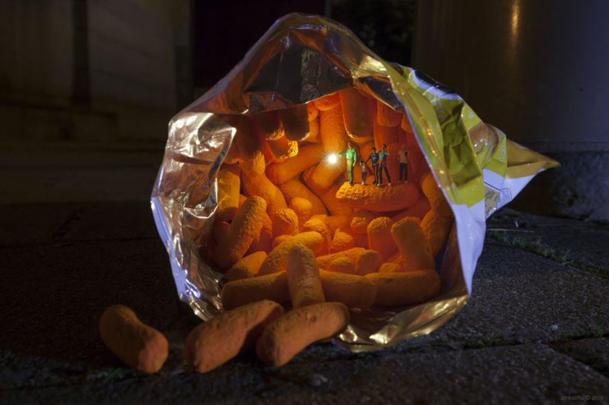 Enter the Miniature Worlds of Slinkachu