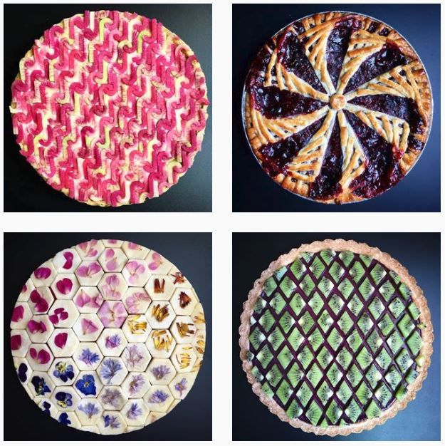 Geometric Pies Of Lauren Ko Of Lokokitchen Neatorama