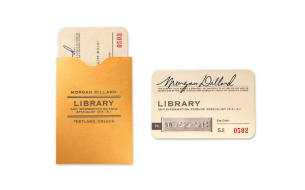 Awesome business cards perfect for librarians neatorama whether youre a librarian writer english teacher or just a fan of good literature there are a whole lot of business cards to love in their list reheart Gallery