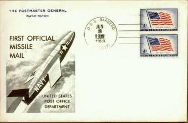 That Time the U.S. Postal Service Tried Delivering Mail By Missile
