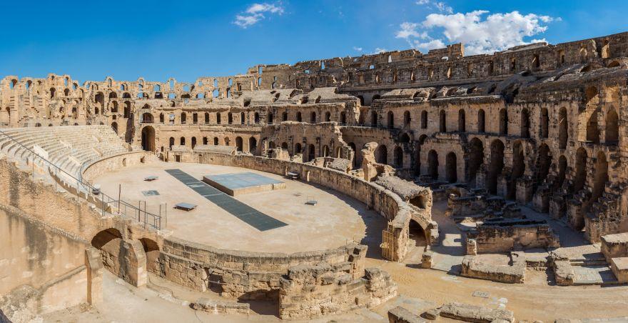 The Roman Colosseums Twin