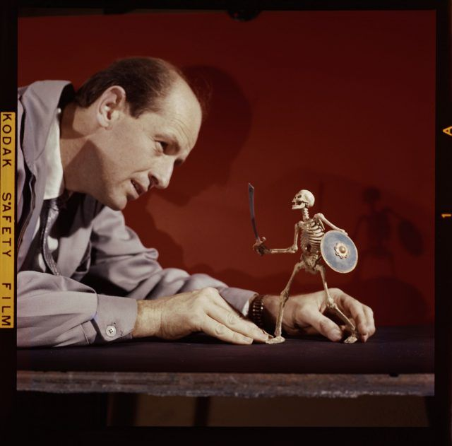Ray Harryhausen's Restored Skeletons and Monsters - and a Bonus