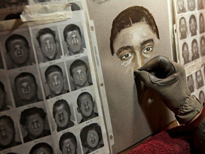 This Artist Help Catch More than 500 Criminals