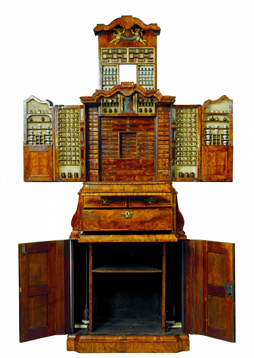 This Extraordinary Cabinet from 1730 Has 56 Secret Drawers and Spaces for 2,000 Items