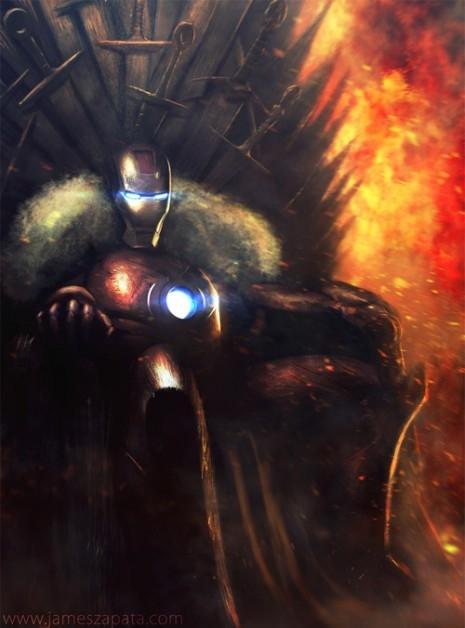 Iron Man Iron Throne