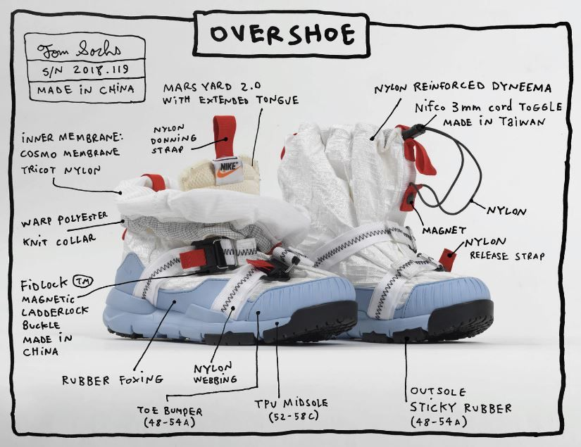 These Shoes by Tom Sachs Are Out of This World!