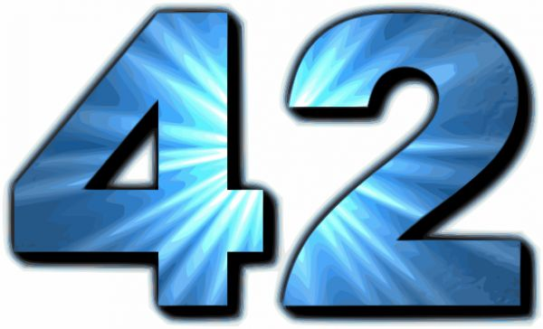 For Math Fans: A Hitchhikers Guide to the Number 42