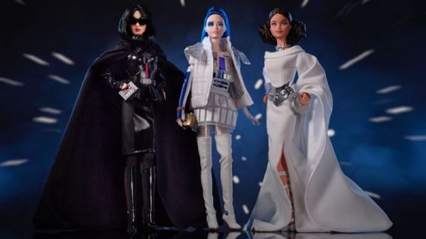 Star Wars Barbies are Coming