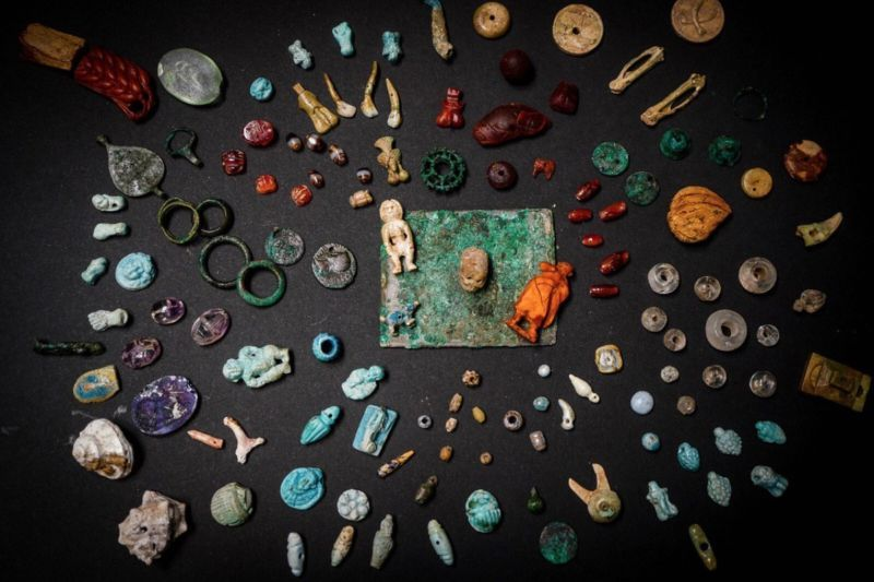 Cache of Ritual Artifacts at Pompeii Discovered by Archaeologists