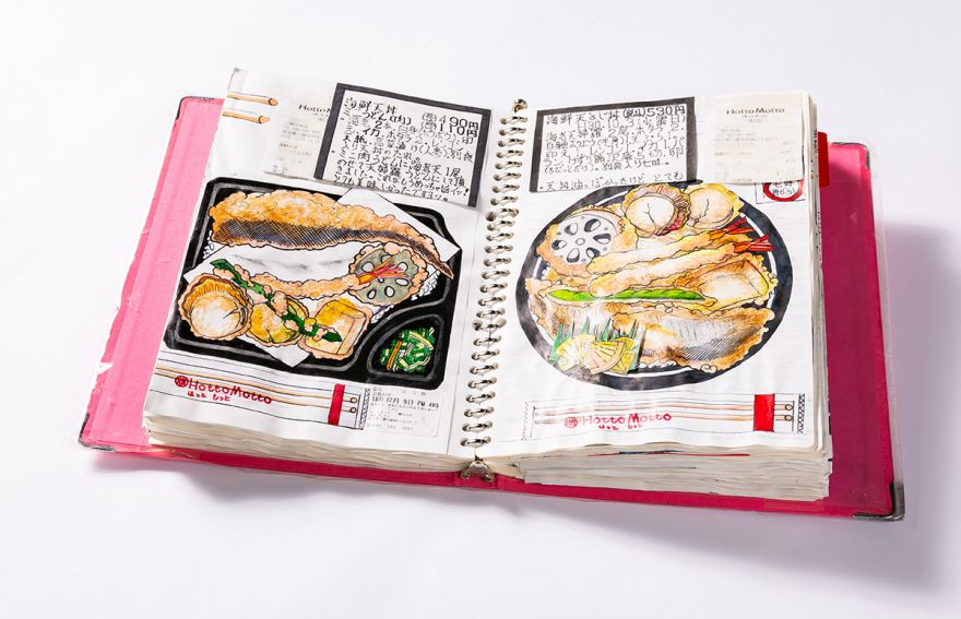Japanese Chef Has Illustrated All of His Meals for the Past 32 Years