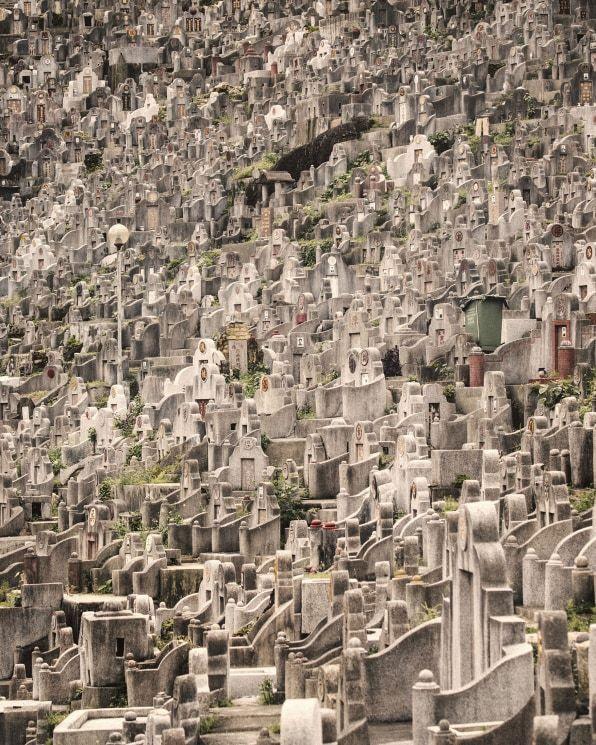 Hong Kong Graveyards Reaching Up To 60 Stories